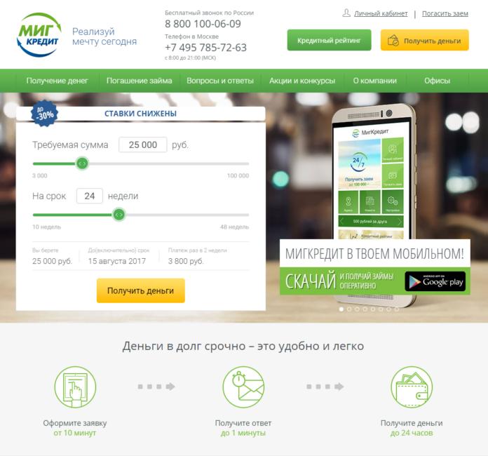 кредит 7 онлайн личный кабинет