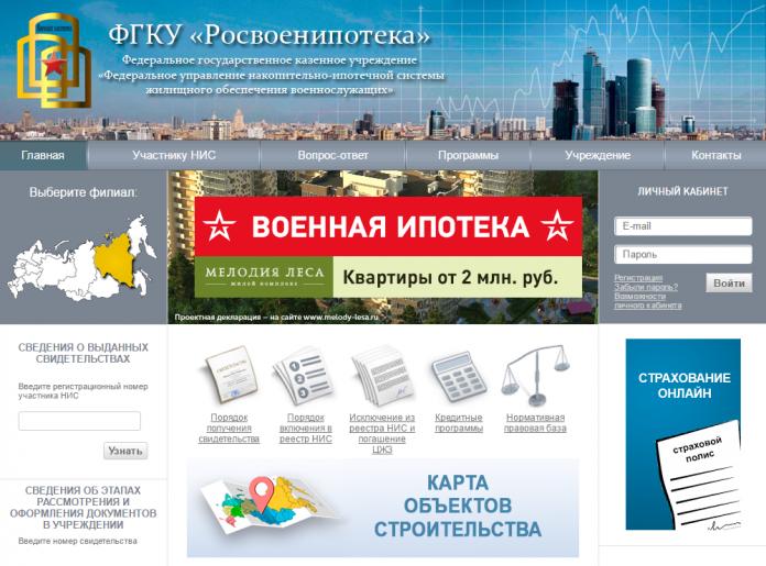 Изображение - Зачем нужен личный кабинет участника нис по военной ипотеке - инструкция по работе в сервисе rosvoenipoteka-site