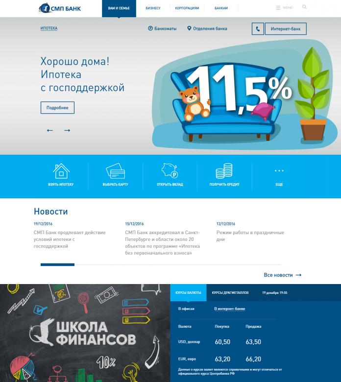 смп банк онлайн для юридических лиц